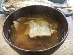 ひもの食堂 自慢の味噌汁